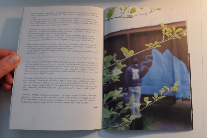 BWNC - Katalog - eine Aris Seite